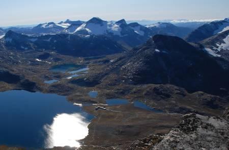 Stehøe Leirvassbu Jotunheimen