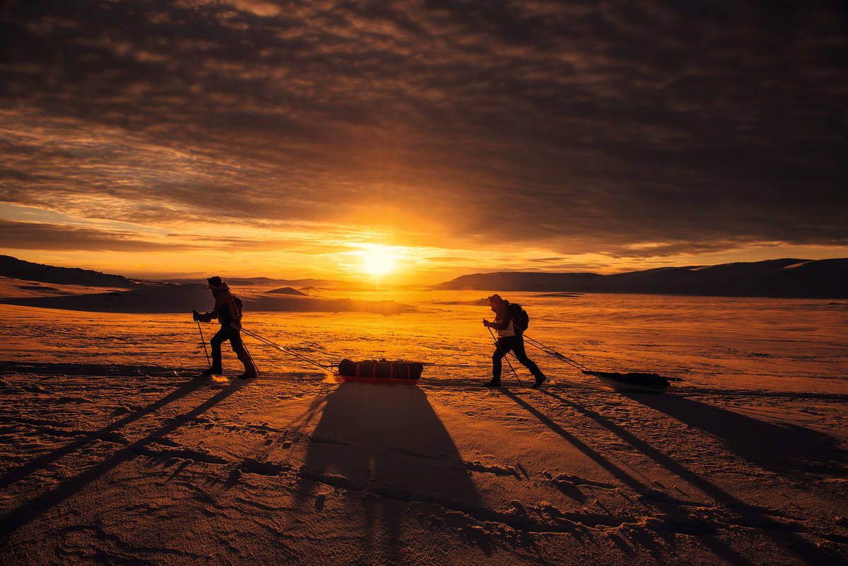 hardangervidda amundsen-ruta