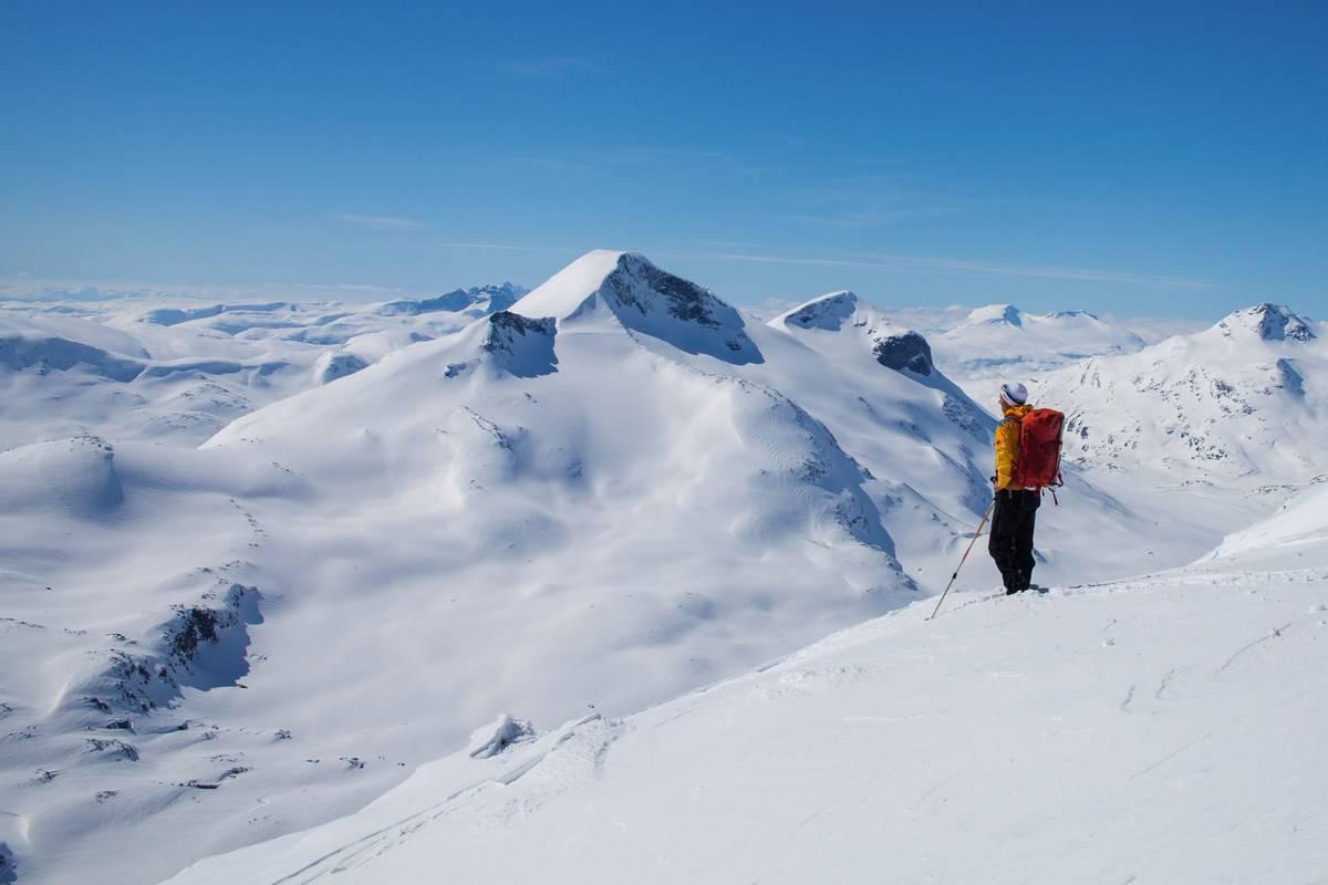 fjellskiklassiker gjennom jotunheimen, skarvheimen og hardangervidda