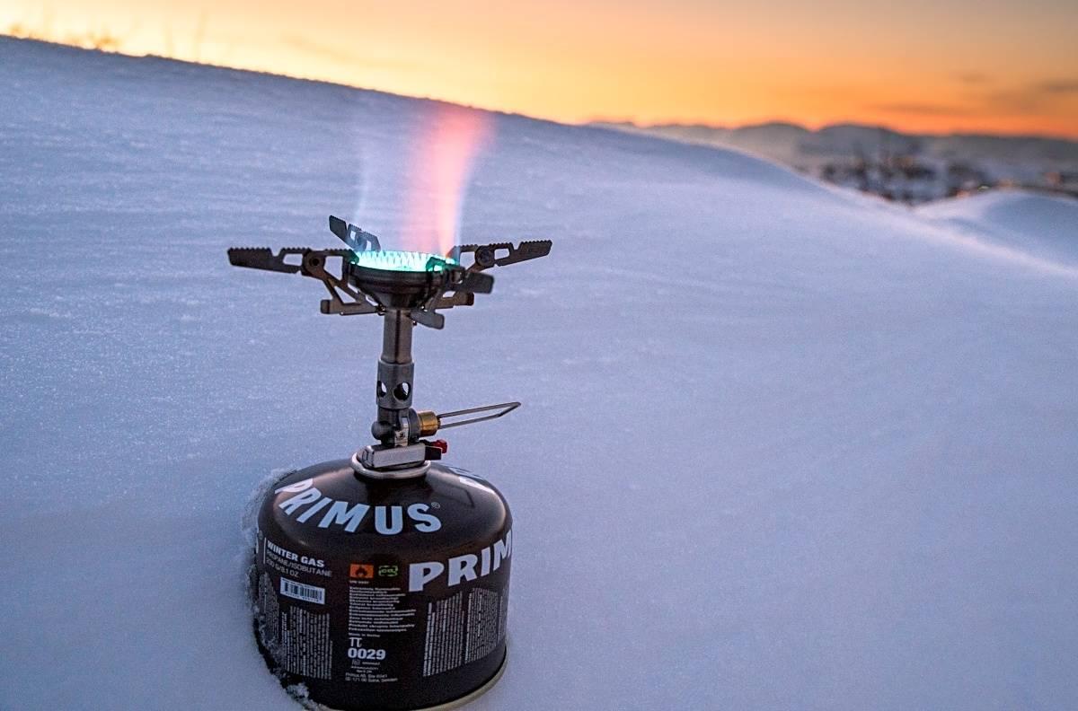PRIMUS WINTER GAS: Vi har testet Primus sin nye gassbeholder Primus Winter Gas. Foto: Randulf Valle