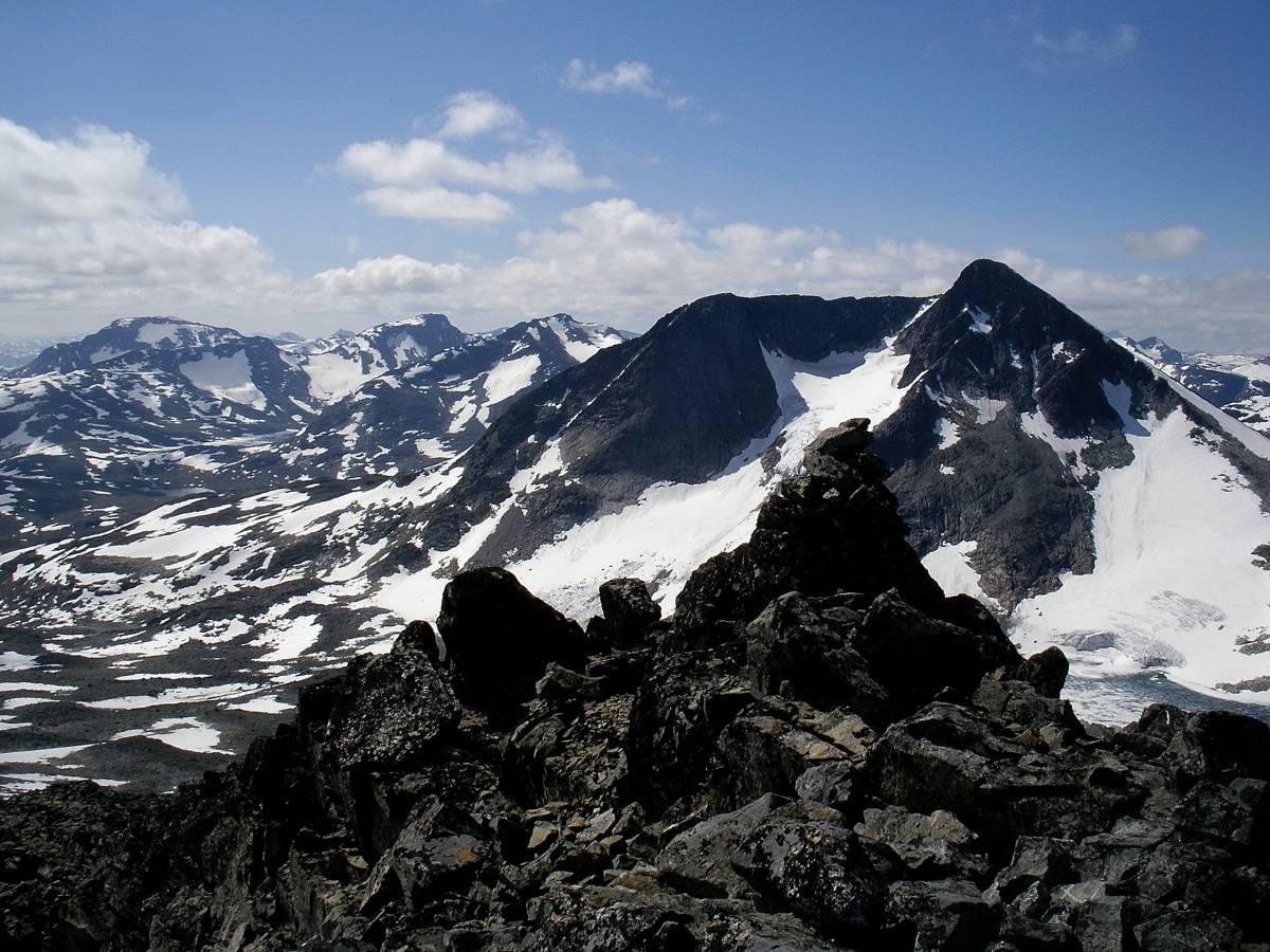 Hinnåtefjellet i Jotunheimen