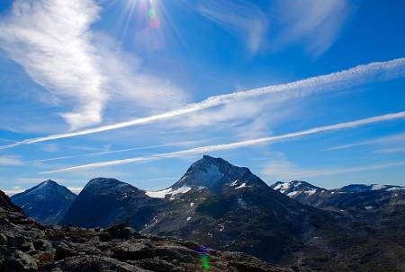 Mjølkedalstinden i Jotunheimen
