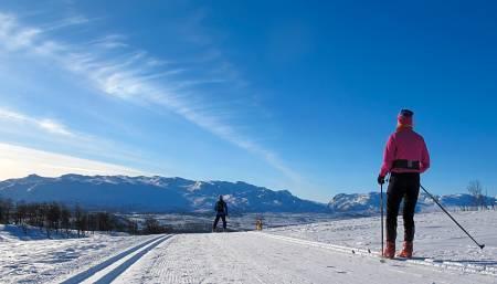 Vierli Farhovdfjellet langrenn ski guide Telemark