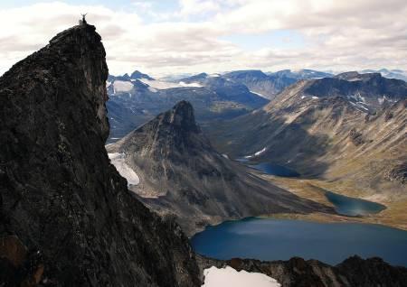 Visbretinden i Jotunheimen