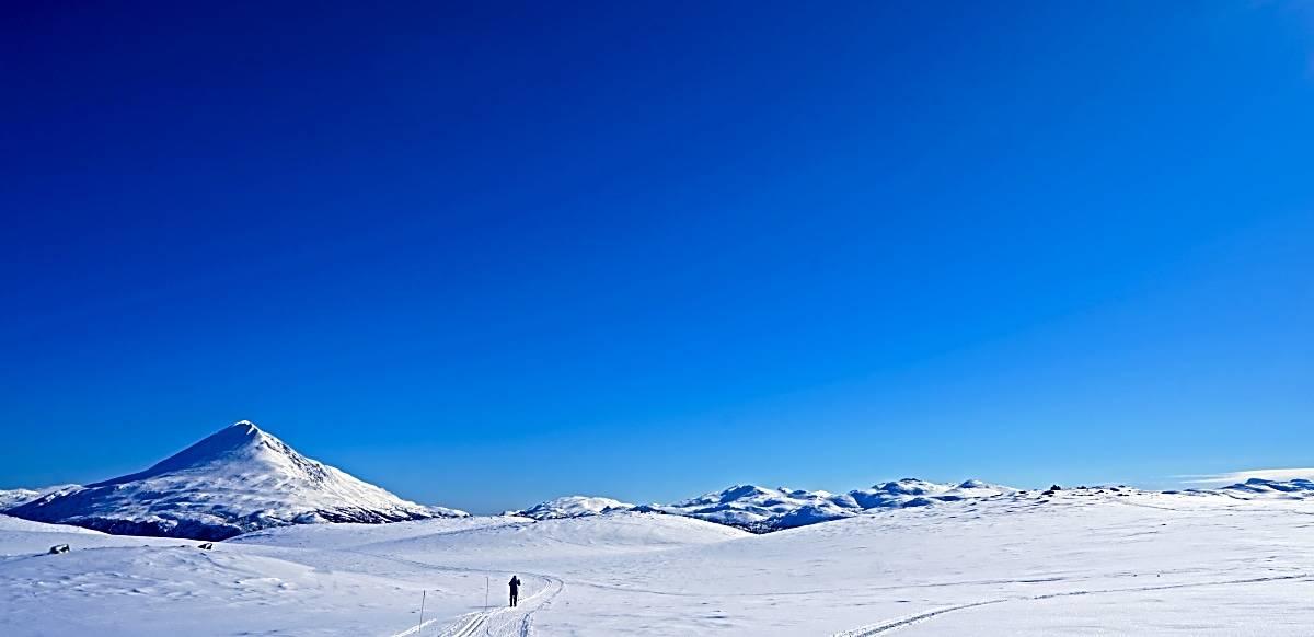Gvepseborg Telemark langrenn utsikt