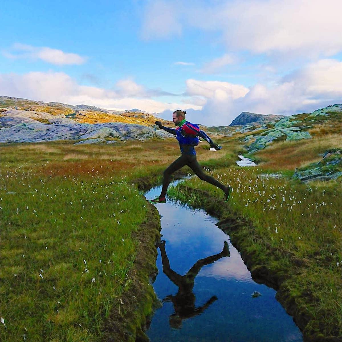 Vegard Engesli underveis på Gullrute forrige helg. Foto: Gjermund Nordskar