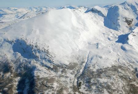 Storhaugen sett fra vest. Foto: Espen Nordahl. / Trygge toppturer.