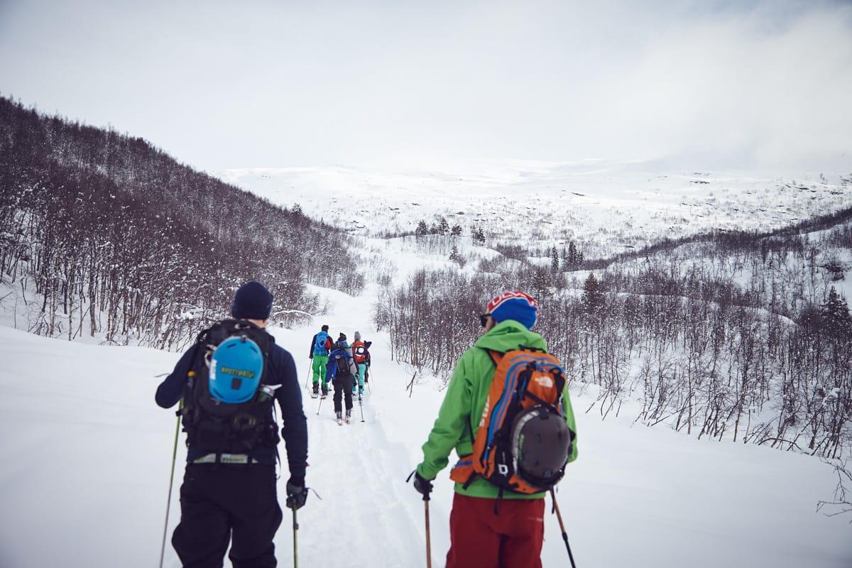 Lær trygg ferdsel i fjellet, møt likesinnede og prøv noe nytt på et nytt sted - vinteren er spekket med toppturfestivaler. Foto: Fjellsportfestivalen