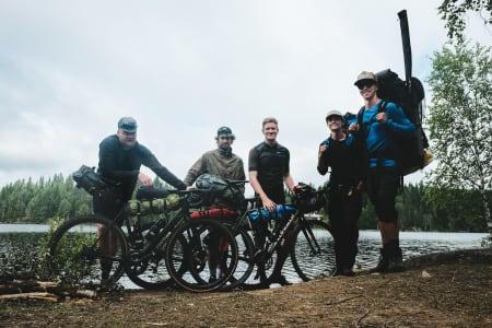 Bikepacking åpner nye muligheter for landeveissyklister. Kanskje viktigst av alt muligheten til bruke hashtager som #freeasnilsen, #campvibes og #groad. Foto: Tobias Lien