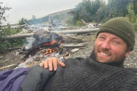 FINALIST: Kjartan Bergsvåg er finalist i Årets eventyrer, etter sin tur i Sibir. Foto: Privat