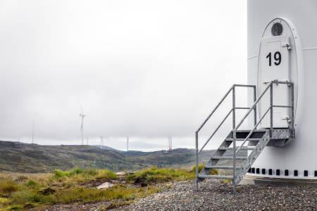 VINDMØLLE-NEI: De færreste ønsker vindkraft i sin kommune, viser ifølge en undersøkelse gjort av Norsk Friluftsliv. Foto: Unni Skoglund