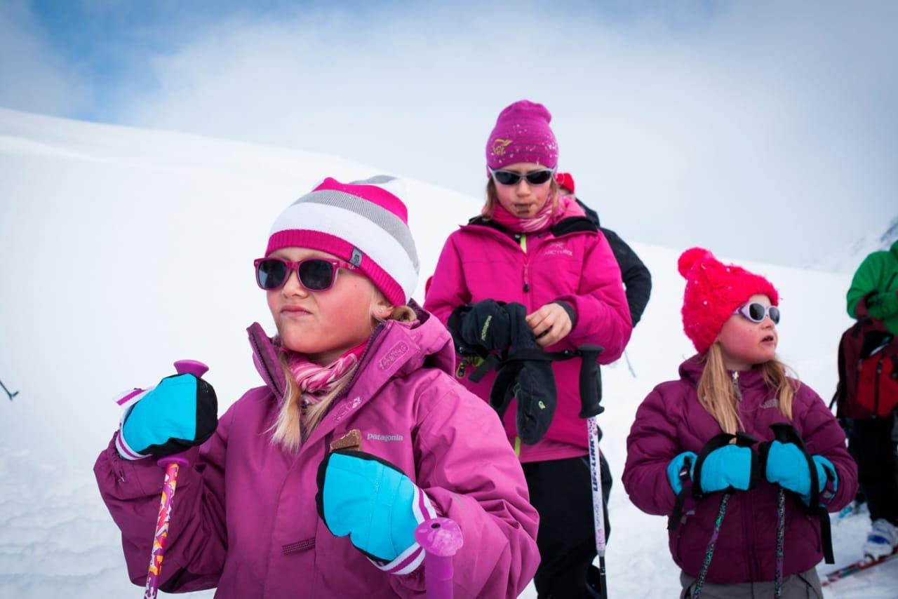 I fjor var 100 små og store skientusiaster samlet på UTEcamp. Foto: Marte Stensland Jørgensen