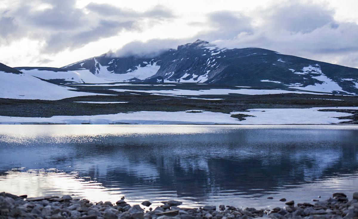 Snøhetta: En av turene går til Snøhetta. En 2000-topp som er lett å bestige. Foto: Marte Stensland Jørgensen