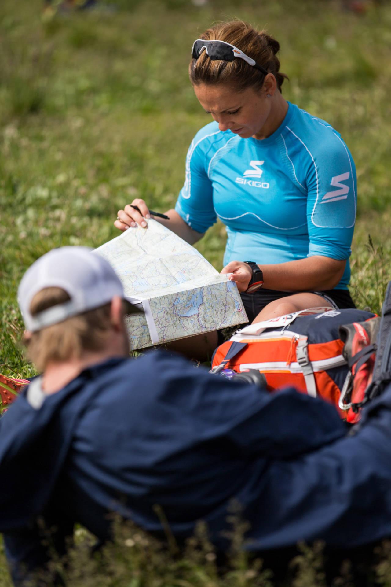 Forberedelser før løpet ved Sognsvann. Foto: Sylvain Cavatz