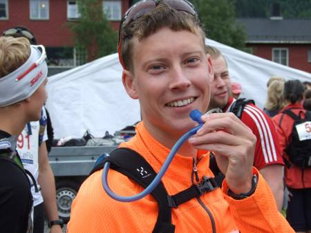 FEMTE GANG: Martin Hauge-Nilsen er alltid optimistisk før start. Foto: Atle Hole