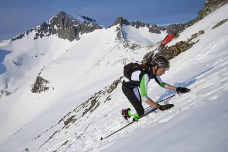 UTHOLDENDE: Ola Inge Drøpping fra Trollheimen Randoneklubb tok 5.plassen på tiden 2:37.