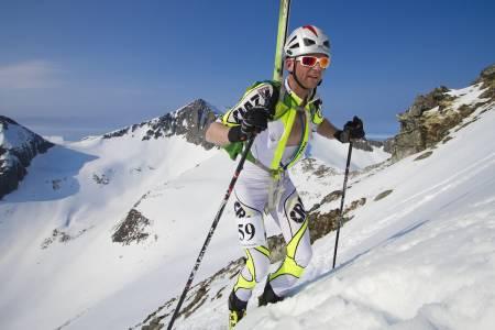 SJETTEMANN: Robin Bråtveit fra Trondheim Randoneklubb kom inn på tiden 2.41 og 6.plass.