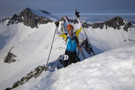 SÅVIDT OVER TRE TIMER: Håkon Inge Blokkhus fra Snøhetta IL kom inn på 9.plass på tiden 3:02.