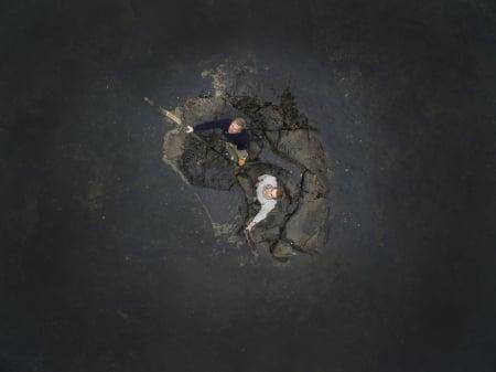 VIL HISTORIEN GJENTA SEG: Toten-kameratene Rune Malterud og Stian Aker er godt på vei mot Scilly-øyene. Foto: Matti Bernitz Pedersen