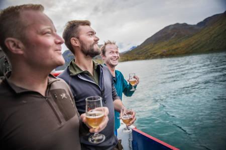 Ølcruise. Foto: Øyvind Nordahl-Næss