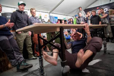 Buldrekonkurransen er blitt en tradisjon. Foto: Line Haarklau