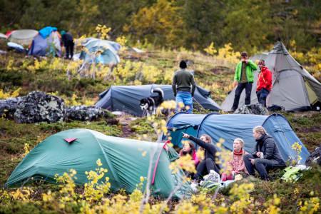 Camp Fjellfilm. Foto: Øyvind Nordahl Næss