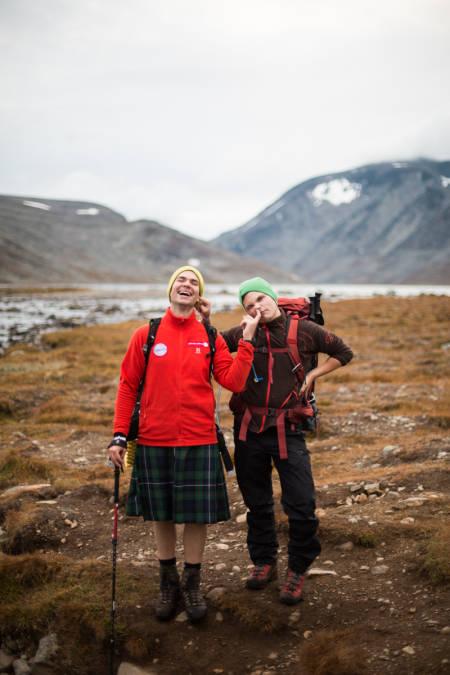 Det er ikke bare Gore-Tex som puster.. Foto: Martha Lovise Sverdrup