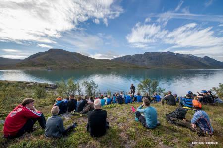 Fra turen langs Gjendevatnet. Foto: Rune Hermansen