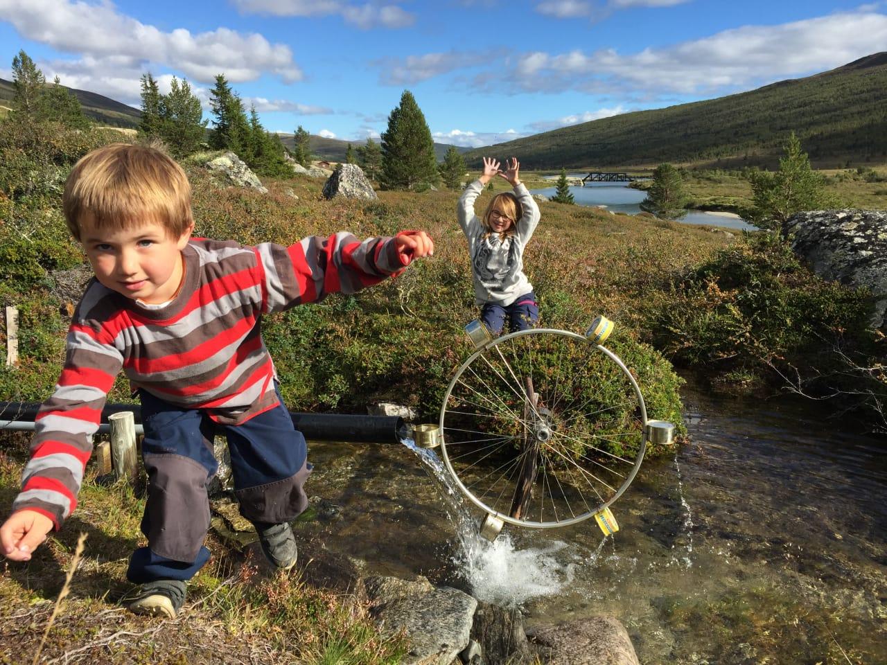 FAMILIEFAVORITT: I denne dalen uten navn lokker hjul hele året. Foto: Sigurd Rønningen