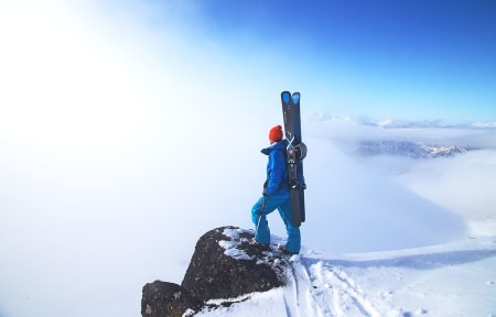 Toppen av Justatind. Foto: Nils-Erik Bjørholt
