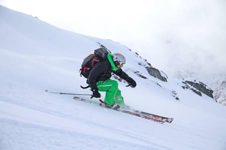 Nedkjøring fra Høgvarden. Foto: Nils-Erik Bjørholt