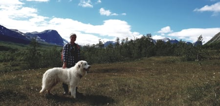 GJETERLIVET: For femte sommer på rad er Ingrid Røskar i gang med sommerjobben med å vokte sau. I sommer deler hun opplevelsene sine med oss.