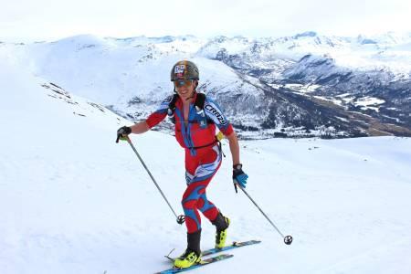 RANDO-KONGEN: Randonee-løper Lars Erik Skjervheim er i rute foran årets sesong. Foto: Kjersti Solvoll Bakketun Tronvoll