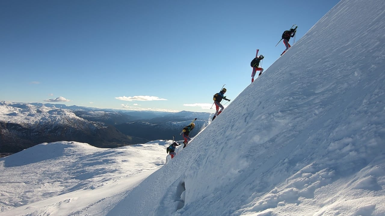 FJELLETS RASKESTE: Me er blant dei fremste i landet på å bevege oss effektivt i fjellet med ski på beina. Denne vinteren skal me verte endå betre, skriv Malene Blikken Haukøy.