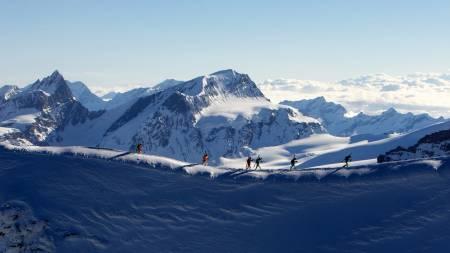 Frå Mezzalama 2017! Foto: Sport di Montagna
