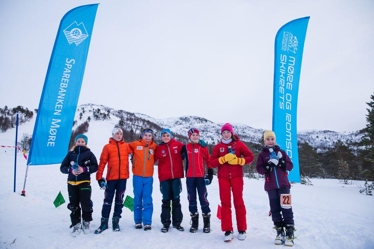 Frå Norgescup i Skorgedalen Foto: Haakon Lundkvist
