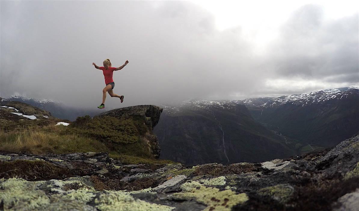 IKKE GÅ LEI: Malene Blikken Haukøy vet hvordan du kan bevare treningsgleden. Foto: Privat