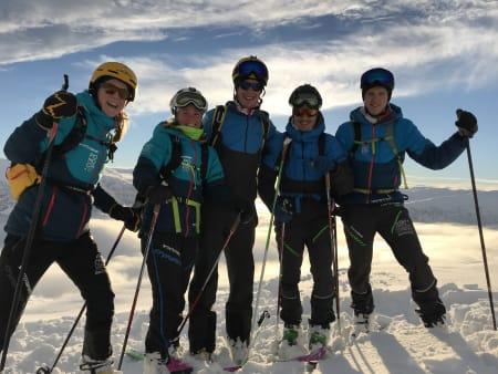 Landslaget i randoneè + Vegard Øye, Erik Kårvatn og Edvard Sætran Solli skal konkurrere med det norske flagget på brystet under årets VM i sveitsiske Villars.