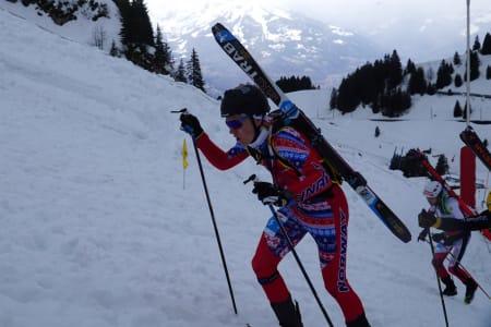 Hans-Inge Klette ble nummer 2 på sprinten i VM. Foto: Pål Ellefsen