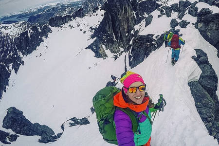 FOR EN DAG: Bare en helt vanlig dag i fjellet da, skriver tellekr. Foto: @tellekr