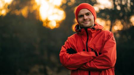 Marius Fuglestad lar både snusboksen og rulleskiene ligge i sommer. Island kaller.