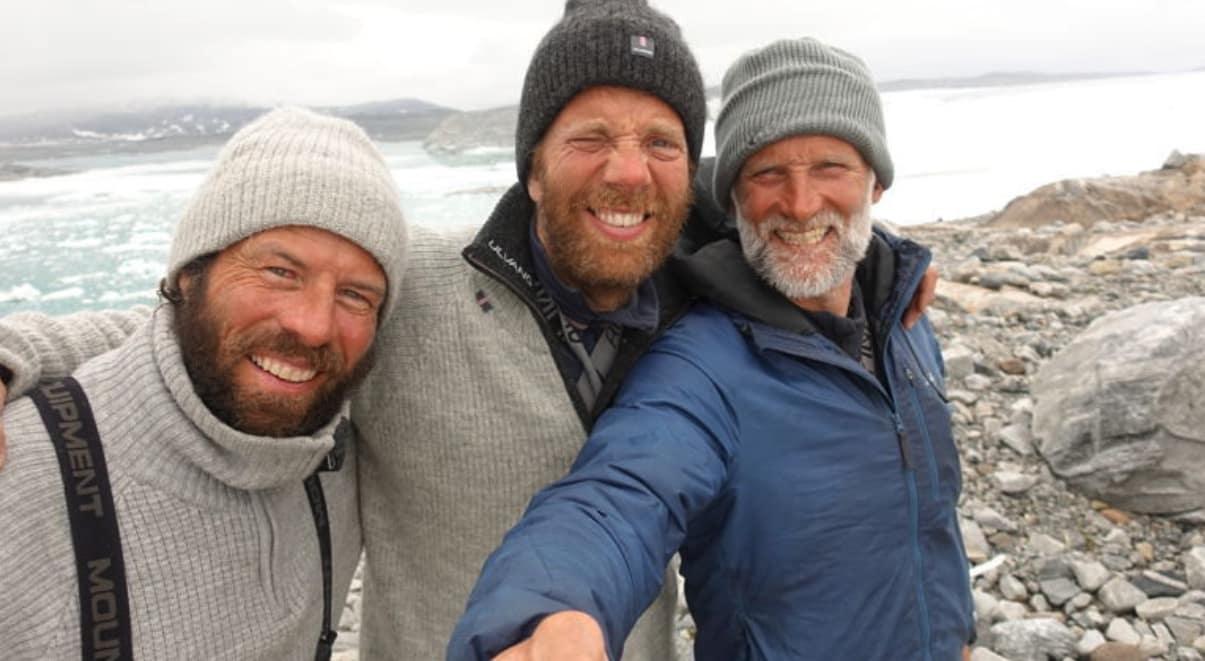 EKSPEDISJON ASTRUP: Ronny Finsås (f.v), Harald Dag Jølle og Vegard Ulvang.