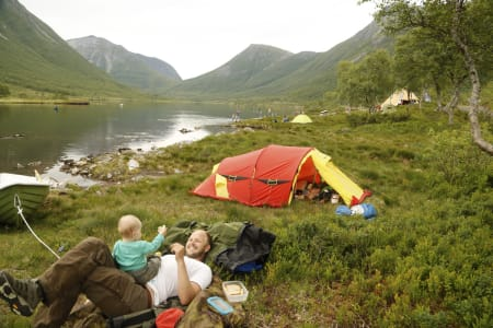 Overnattningstur Selsetervatnet. Foto: Vera Simonsson