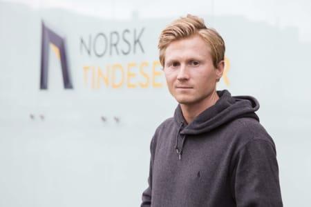 Magnus Midtbø. Foto: Matti Bernitz