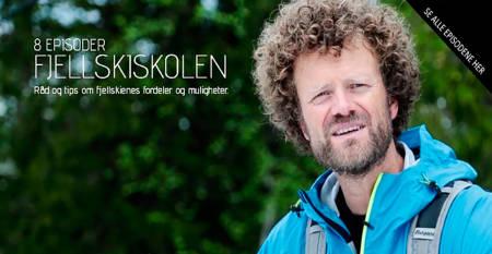 FJELLSKISKOLEN: Skipedagog og programleder i Fjellskiskolen, Pål-Trygve Gamme, lærer deg alt du trenger å vite om fjellski. Foto: Skjerdump