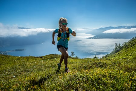 TRAILHERO: Liker du å løpe i fjellet og vil være med på å bygge sporten, er denne konkurransen noe for deg. Foto: Håvard Nesbø