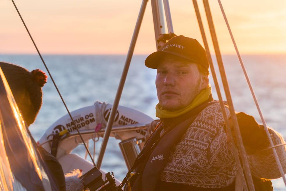EKSPEDISJON BARENTS: På tokt mot oljeboring. Ekspedisjonsleder Thor Due. Foto: August Gautun