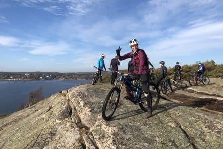 Det meldes om fine sykkelforhold i Fredrikstadområdet. Foto: Christian Alshus