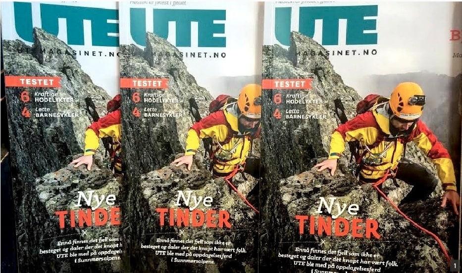 SOLID ØKNING: Magasinet UTE er det bladet som opplever nest mest framgang.