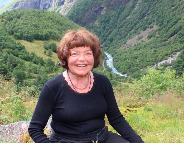 Fjellpioner: Berit Johansen Vetti. Foto: Jan Egil Fimreite, Sogn Avis